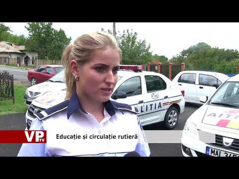 Educație și circulație rutieră