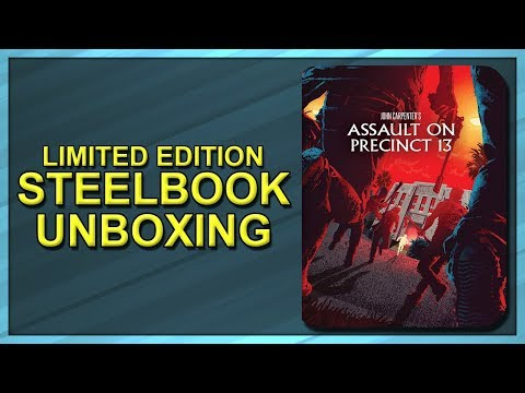 Assault On Precinct 13 (1976) Limited Edition SteelBook Unboxing