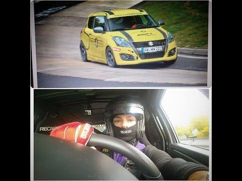 Nurburgring 10/14 My 1st Lap With Slowly Suzuki Swift Stage2. BTG 9,24!