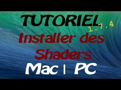 Comment installer des shaders Minecraft en 1.7.2/1.7.4 (видео)