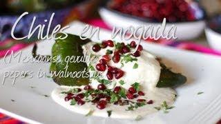 Chiles en nogada (Mexicaanse gevulde pepers)