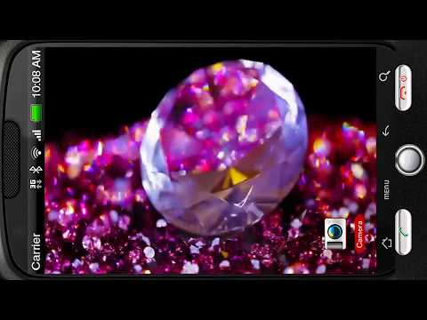 Video of Perfect Pink Jewel Chic Stone