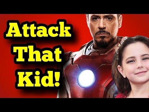 NPC attack Tony Stark's kid from Avengers Endgame!