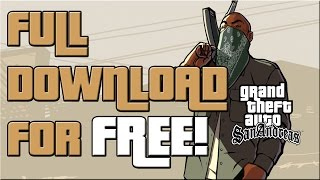 Nonton How To Get GTA San Andreas For Free Full Version (PC) Film Subtitle Indonesia Streaming Movie Download