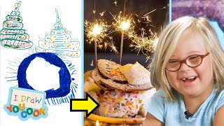 Video Can These Chefs Create A Kid's Dream Cake? MP3, 3GP, MP4, WEBM, AVI, FLV November 2018