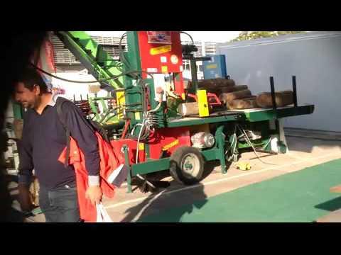 Presentazione dei macchinari - Fiera di Bari 2015