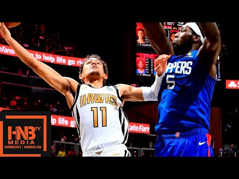 LA Clippers vs Atlanta Hawks Full Game Highlights | 11.19.2018, NBA Season