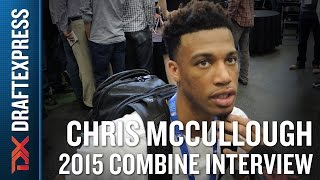 Chris McCullough 2015 NBA Draft Combine Interview