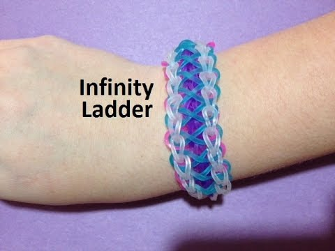 How to Make an Infinity Ladder Bracelet on the Rainbow Loom – Original Design