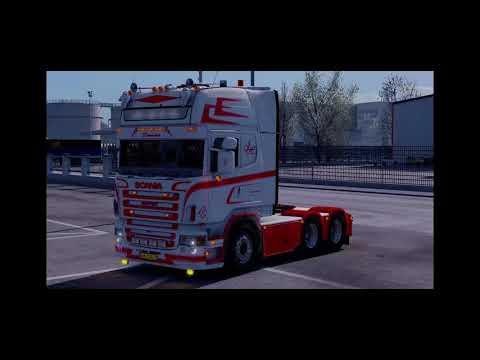 Scania Jesper Hansen + Trailer v1.0