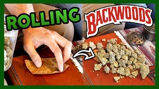 How to Roll BACKWOODS BLUNT with ADAM ILL by That High Couple