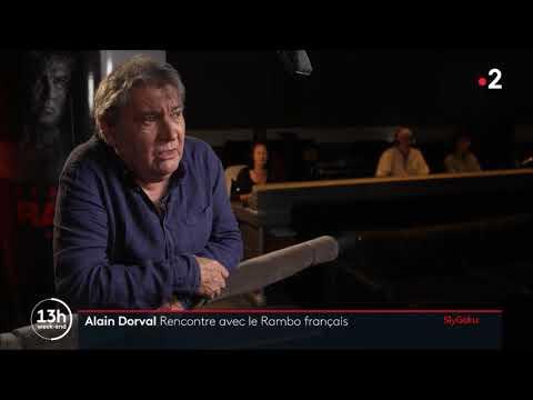 Alain Dorval la voix de Rambo