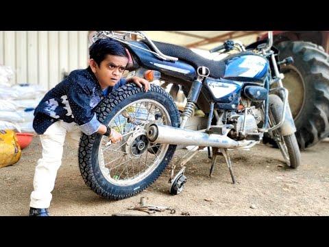 छोटू दादा टायर चोर | CHOTU DADA TYRE CHOR | Khandesh Hindi Comedy | Chotu Comedy Video
