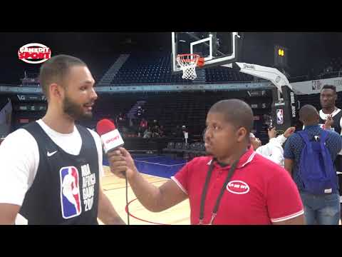 EVAN FOURNIER AU NBA AFRICA GAMES