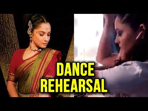Ankita Lokhande Dance Rehearsal Video From Manikar