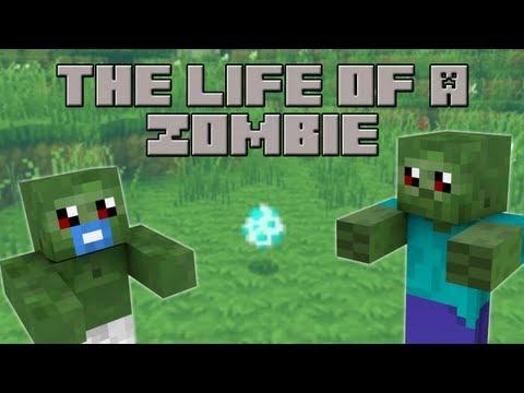The Life of a Zombie (Minecraft Machinima)
