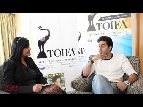 abhishek bachchan - DARPAN Magazine interviewed Bollywood megastar Abhishek Bachchan, who is in Vancouver with his wife Aishwarya Rai for the Times of India Film Awards. He was ...