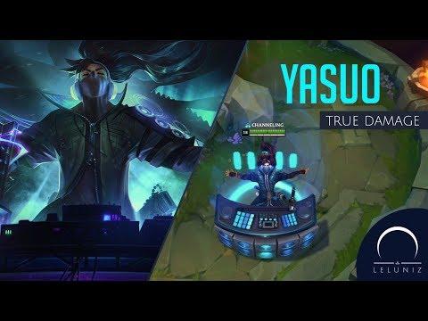 Skin: Yasuo True Damage - League Of Legends