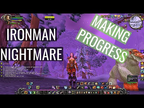 THESE MOBS ARE TOUGH! Project Ascension WoW Ironman/Nightmare Leveling 1-70 Episode 5