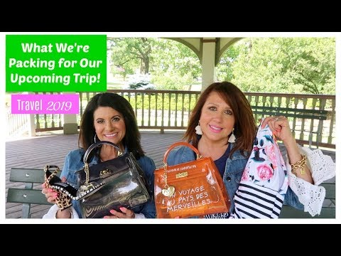 What We Are Packing For Our Upcoming Trip | Travel 2019 | The2Orchids