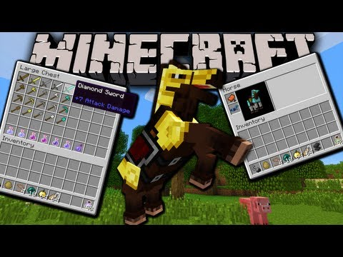 horse - I take a look at the new snapshot update available this week for Minecraft 1.6, 13w21a, and run down the list of new features & fixes added. Tons of stuff th...