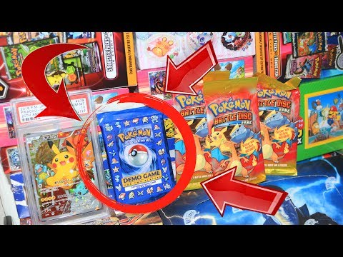 Opening 7 Old & Rare Pokemon Items