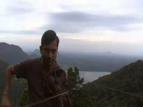 carnatic violin - raga hindolam by anandnadh