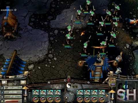 Battle Realms - Multiplayer Gameplay 2v2 Part 2