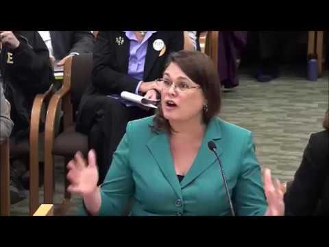 Sen. Sara Gelser testifies in support of HB 2830