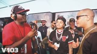 T.I. and Young M.A w/ Greg Street! 2016 BET Hip Hop Awards 'Green Carpet'