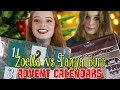 Download Video Zoella Advent Calendar vs Tanya Burr Christmas Advent Calendar 2017 | NiliPOD