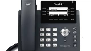T41P/T42G IP Phone - Voice Mail