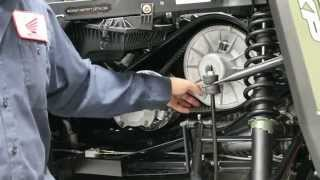 10. How to change a belt on a 2015 Polaris Ranger 900 XP