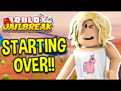 ROBLOX JAILBREAK STARTING OVER! *BACON HAIR!*  Roblox Jailbreak February Update LIVE