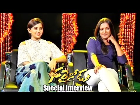 Sarrainodu Movie  Special Interview | Allu Arjun , Rakul Preet , Boyapati Sreenu