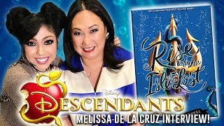 "I'm pleased to bring you an exclusive interview with Melissa de la Cruz, author of Disney Descendants' Rise of the Isle of the Lost! It was amazing to meet this #1 New York Times best-selling author and she was an absolute sweetheart! I was honored to ask her questions about the book, as well as advice for young writers pursuing their dream. Hope you enjoy! - Charisma StarWant to know me more? Come hang out with me:SNAPCHAT: ""Charisma.Star""PERISCOPE: ""CharismaStar""FACEBOOK: http://www.facebook.com/CharismaStarTVTWITTER: http://www.twitter.com/CharismaStarTVCharis' INSTAGRAM: ""CharismaStar""NEW! I have a PO Box (finally)!Charisma Star TVPO Box 55193North Pole, AK 99705FOR BUSINESS INQUIRIES, please email:charismastar@mattermediagroup.com Camera: Sony a7sEditor: Final Cut Pro"