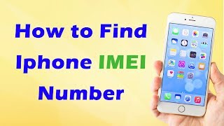 Find the serial number or IMEI on your Apple iPhone, iPad or iPod touch. Learn where to find your Apple iOS device's serial number, IMEI/MEID, CDN, and ICCID.   Supported Models:iPhone 7, iPhone 7 Plus, iPhone 6s, iPhone 6s Plus, iPhone 6,   iPhone 6 Plus, iPhone SE, iPhone 5s, iPhone 5c, iPhone 5, iPhone 3G, iPhone , 3GS, iPhone 4 (GSM model), iPhone 4s, iPhone 8 and iPhone 8 plus.Search Keywords:imei number iphone check if stolen.how to find imei number without phone.how to check iphone serial number.how to check original iphone 5s.how to check original iphone 6.imei number iphone 7.how to check iphone original imei.