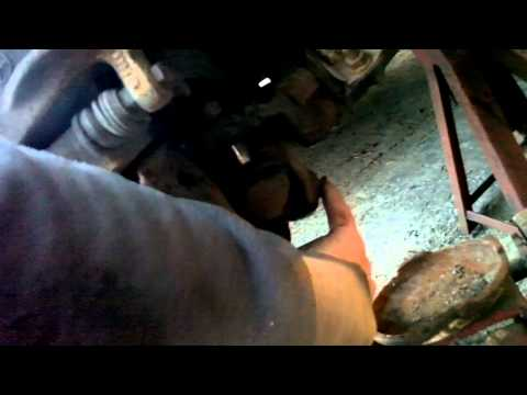 Mercedes Benz w202 lower balljoint replacement