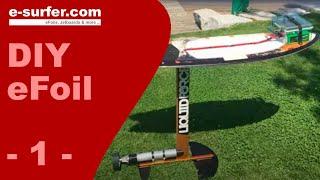 DIY Electric Surfboard - Electric Hydrofoil