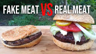 Impossible Burger vs Possible Burger You Choose by BBQ Pit Boys