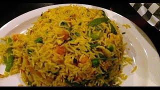 Vegetable Briyani  /  Indian style of cooking