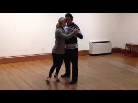 Argentine Tango lesson in new london, connecticut 01.08.15