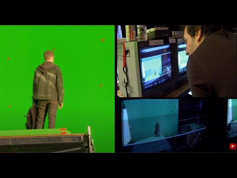 Jumper 2008 behind the scenes Making an actor jump