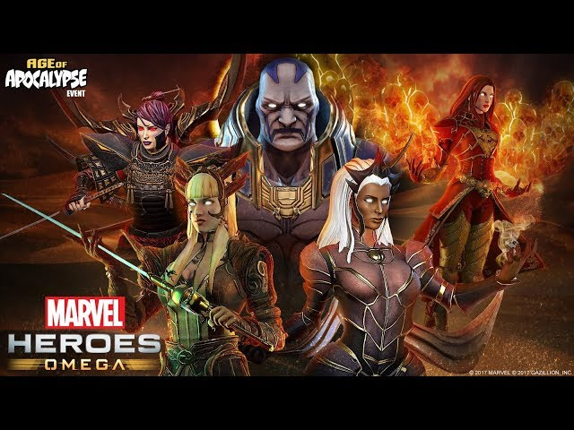 Marvel Heroes Omega: Age of Apocalypse Event Trailer