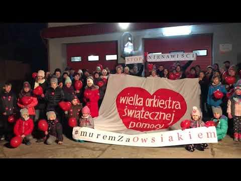 Wideo1: Pudliszki murem za Owsiakiem