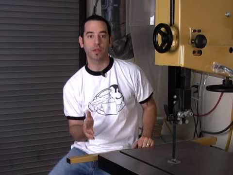 band saw - In this episode, I cover the basic setup and tuneup of one of the coolest tools in the shop, the bandsaw. Whether you plan on cutting veneer, re-sawing lumbe...