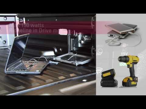 How to use the 2017 Honda Ridgeline In-Bed Power Inverter