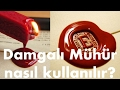 Damgalı Mühür Kullanımı | How to Seal with Sealing Wax Stamp (Tutorial)