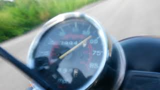 6. Top speed honda nighthawk 250