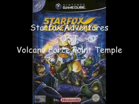 Starfox Adventures OST - Volcano Force Point Temple